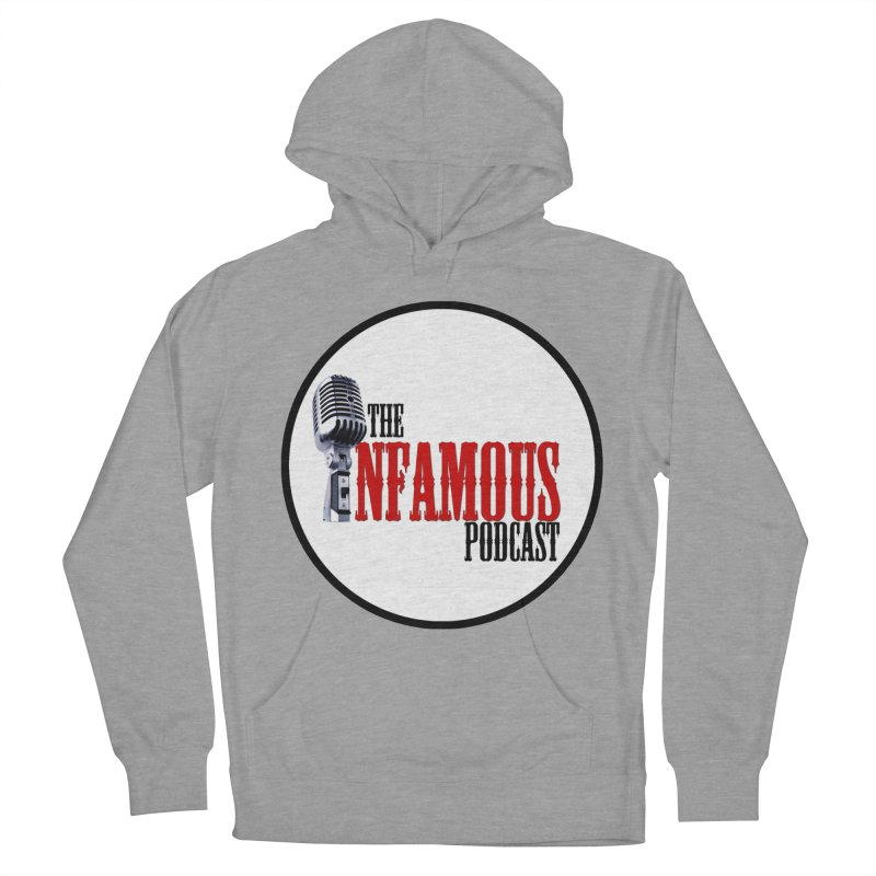 Infamous Podcast Logo Women's French Terry Pullover Hoody by The Infamous Podcast's Artist Shop
