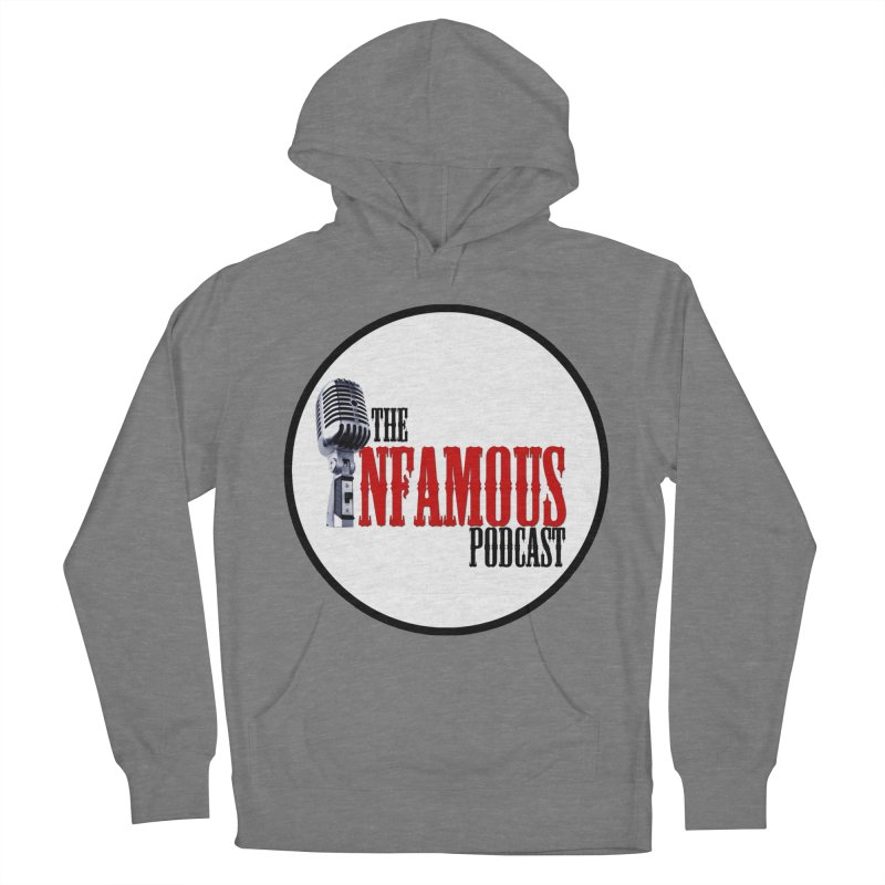 Infamous Podcast Logo Men's French Terry Pullover Hoody by The Infamous Podcast's Artist Shop