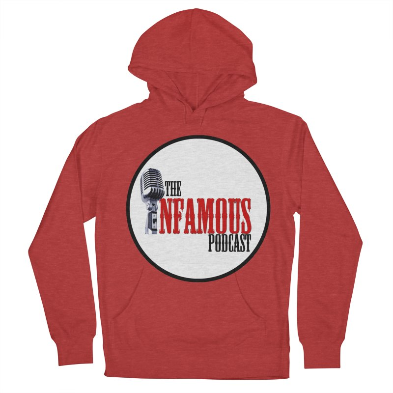 Infamous Podcast Logo Men's Pullover Hoody by The Infamous Podcast's Artist Shop