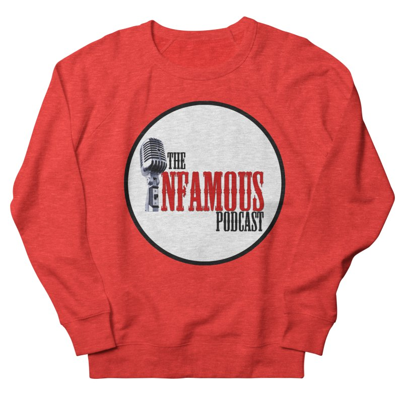 Infamous Podcast Logo Men's Sweatshirt by The Infamous Podcast's Artist Shop