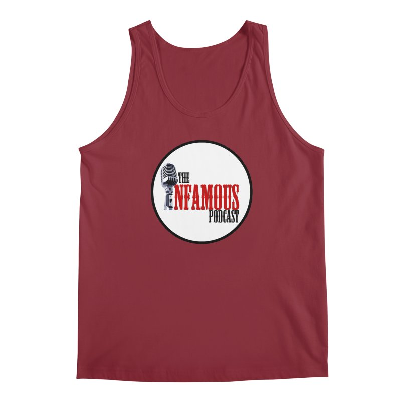 Infamous Podcast Logo Men's Regular Tank by The Infamous Podcast's Artist Shop