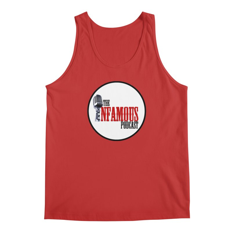 Infamous Podcast Logo Men's Tank by The Infamous Podcast's Artist Shop