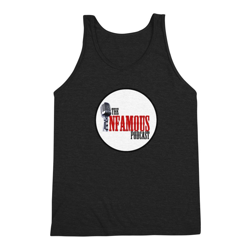 Infamous Podcast Logo Men's Triblend Tank by The Infamous Podcast's Artist Shop