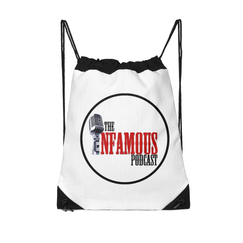 Infamous Podcast Logo Accessories Bag by The Infamous Podcast's Artist Shop