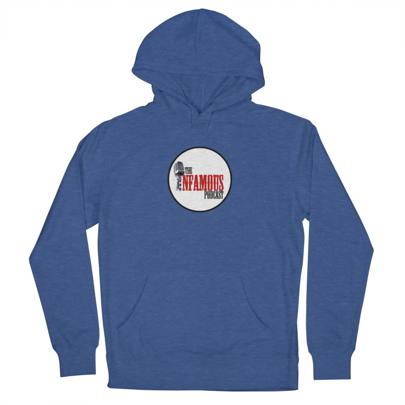 Small Infamous Podcast Logo Women's French Terry Pullover Hoody by The Infamous Podcast's Artist Shop
