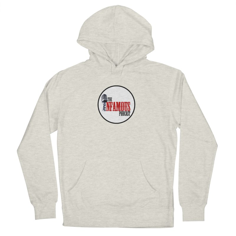 Small Infamous Podcast Logo Women's Pullover Hoody by The Infamous Podcast's Artist Shop