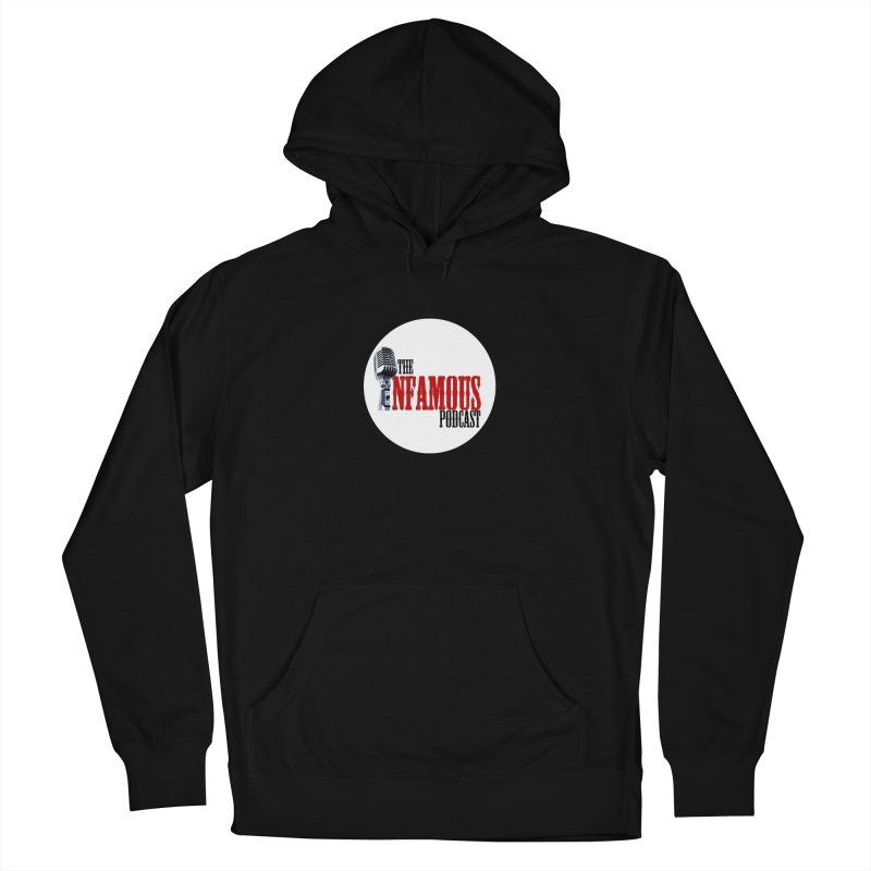 Small Infamous Podcast Logo Men's French Terry Pullover Hoody by The Infamous Podcast's Artist Shop