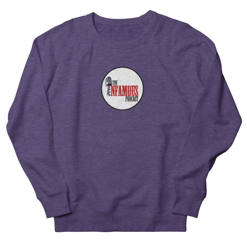Small Infamous Podcast Logo Women's French Terry Sweatshirt by The Infamous Podcast's Artist Shop