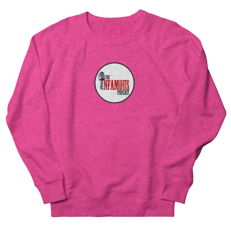Small Infamous Podcast Logo Women's Sweatshirt by The Infamous Podcast's Artist Shop