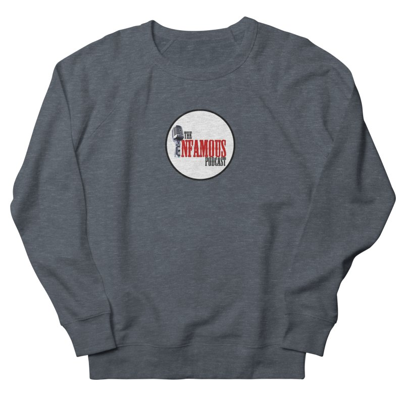 Small Infamous Podcast Logo Men's Sweatshirt by The Infamous Podcast's Artist Shop