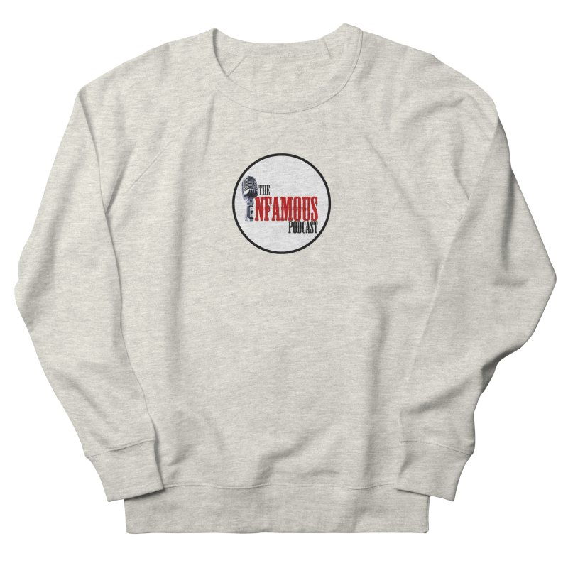 Small Infamous Podcast Logo Men's French Terry Sweatshirt by The Infamous Podcast's Artist Shop