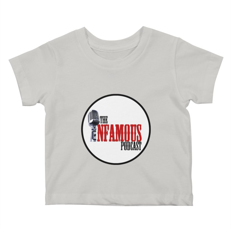 Small Infamous Podcast Logo Kids Baby T-Shirt by The Infamous Podcast's Artist Shop