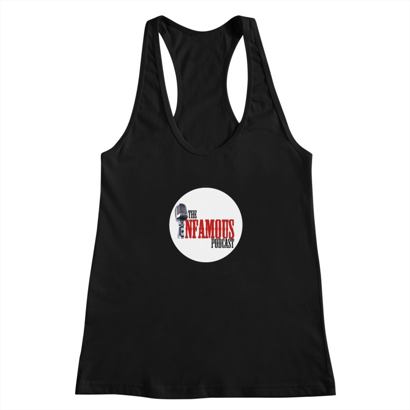 Small Infamous Podcast Logo Women's Tank by The Infamous Podcast's Artist Shop