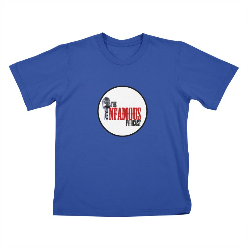 Small Infamous Podcast Logo Kids T-Shirt by The Infamous Podcast's Artist Shop