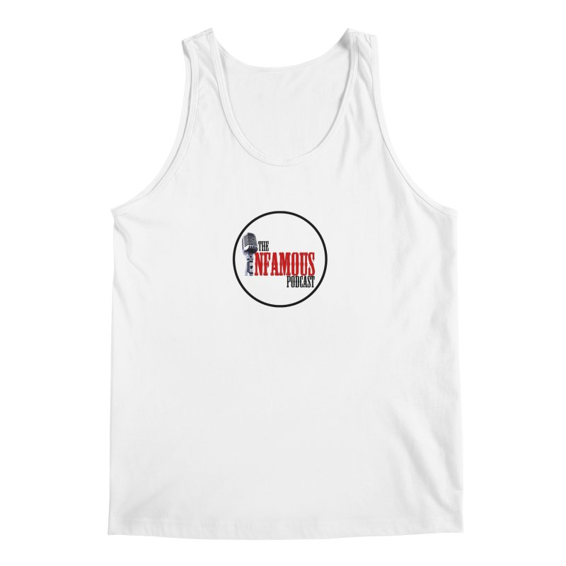 Small Infamous Podcast Logo Men's Regular Tank by The Infamous Podcast's Artist Shop