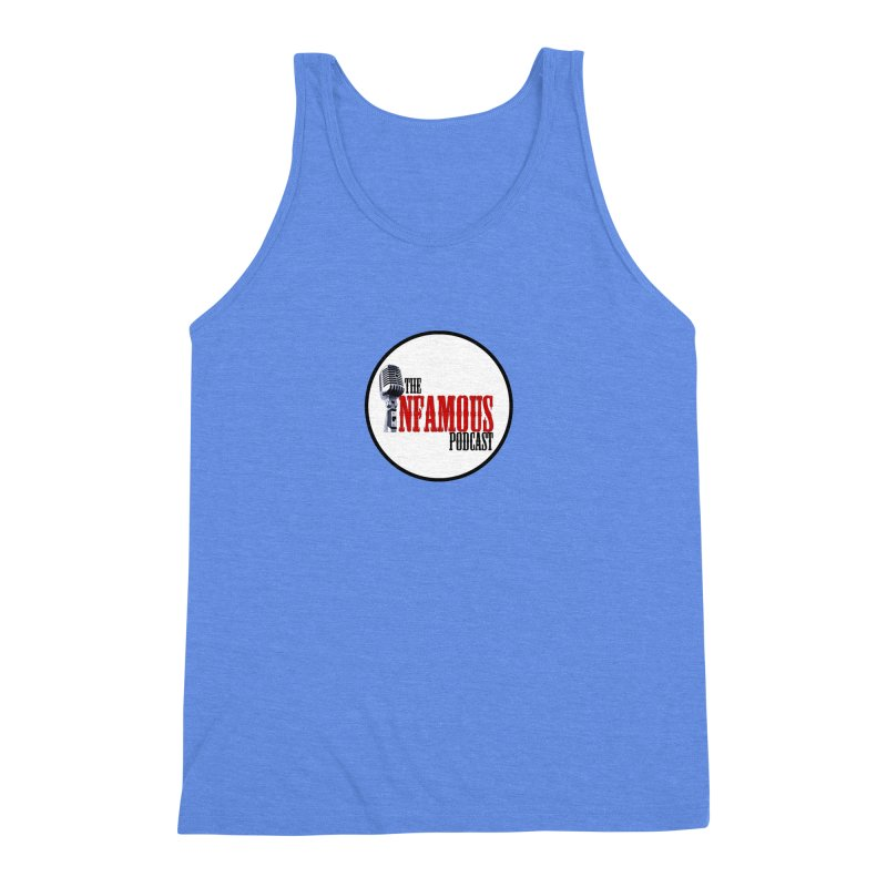 Small Infamous Podcast Logo Men's Triblend Tank by The Infamous Podcast's Artist Shop