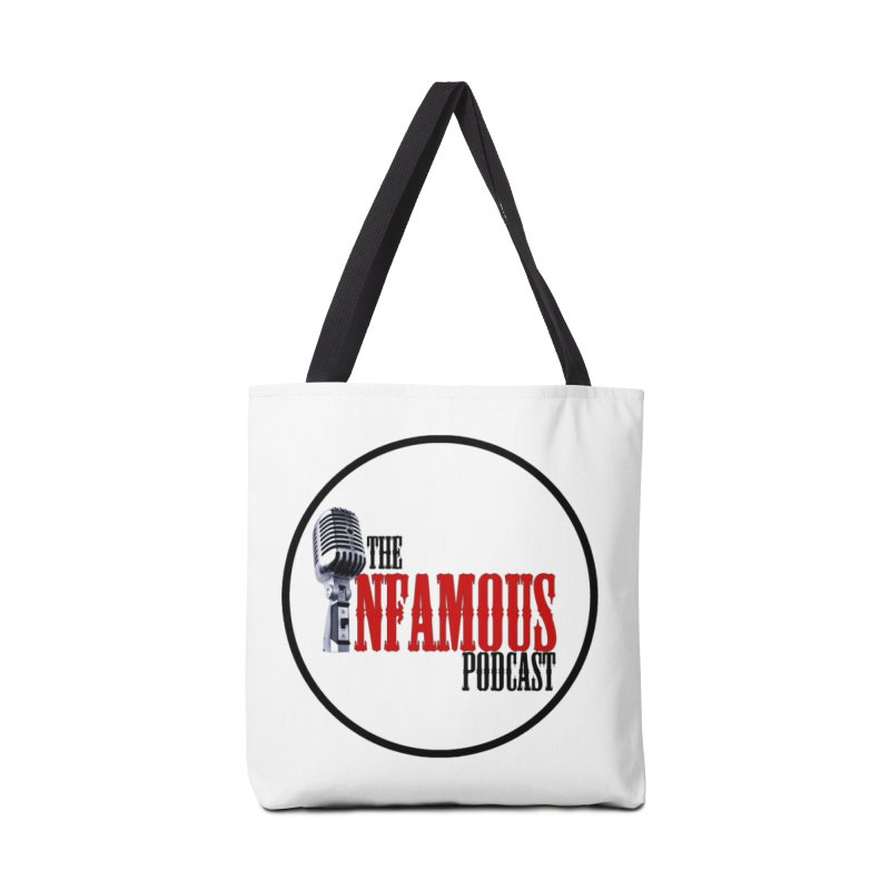 Small Infamous Podcast Logo Accessories Bag by The Infamous Podcast's Artist Shop