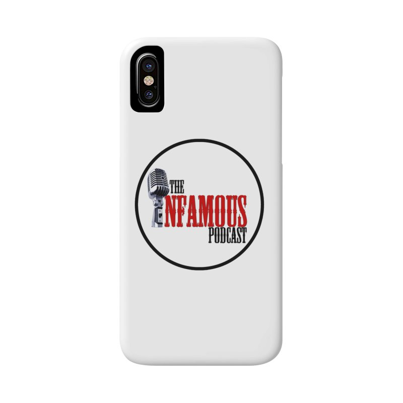 Small Infamous Podcast Logo Accessories Phone Case by The Infamous Podcast's Artist Shop