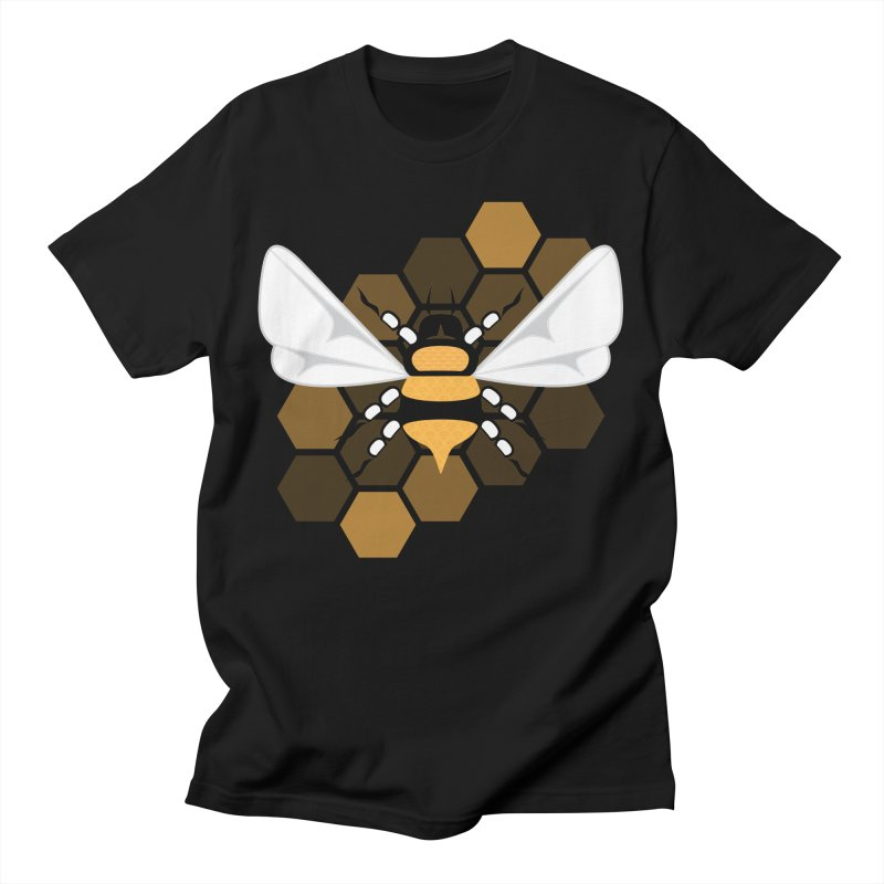 Manifest Miracles - Bee Men's T-Shirt by Infinity Art Graphics