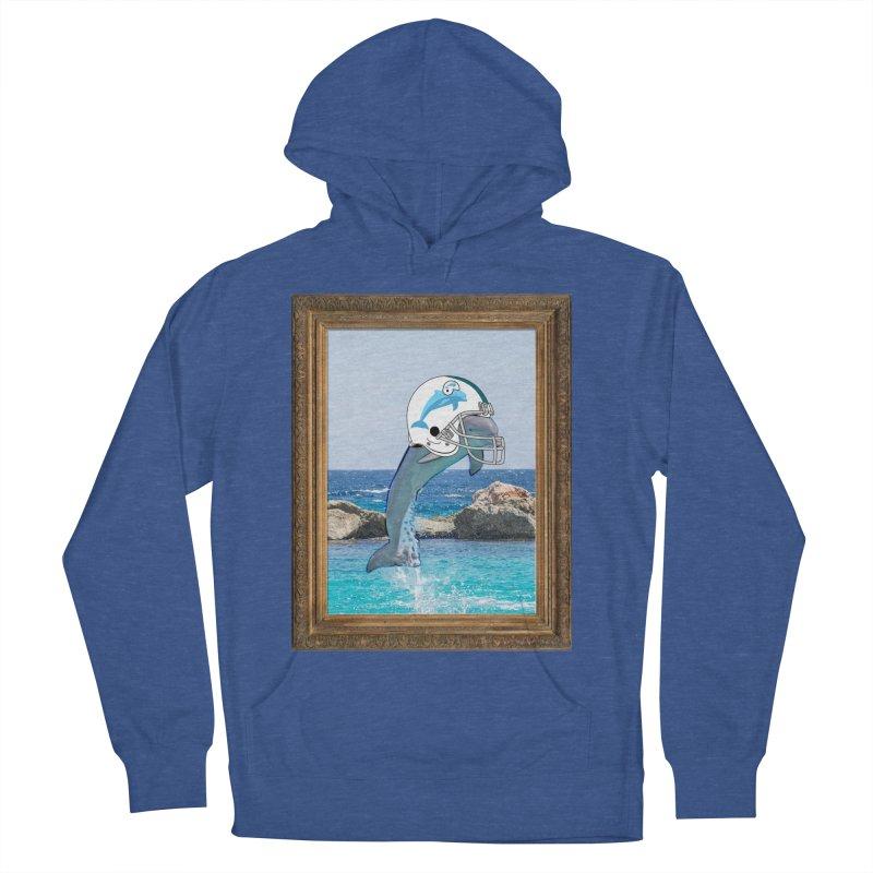 Dolphins Forever Men's Pullover Hoody by infinityforever's Artist Shop