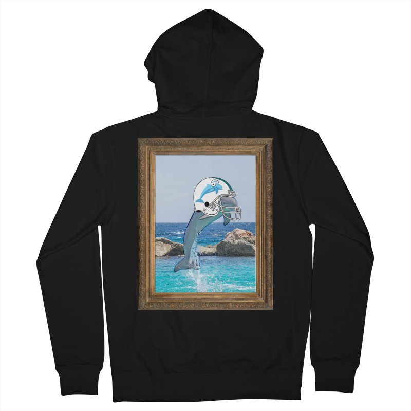 Dolphins Forever Women's Zip-Up Hoody by infinityforever's Artist Shop