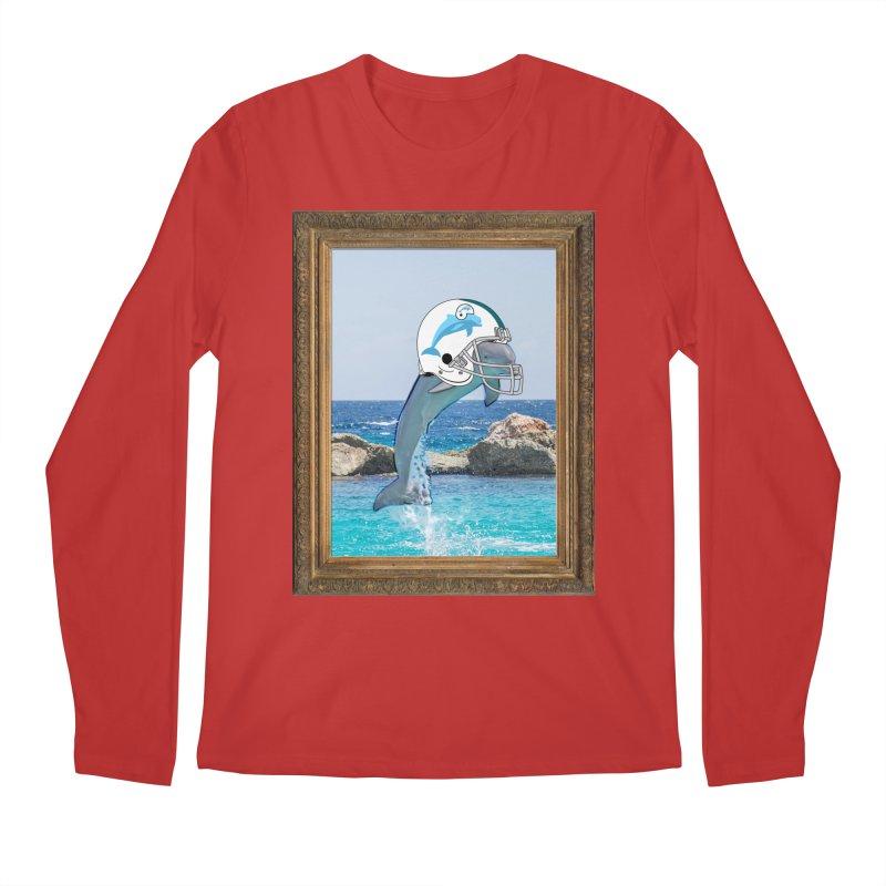 Dolphins Forever Men's Longsleeve T-Shirt by infinityforever's Artist Shop