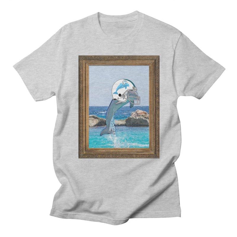 Dolphins Forever Men's T-shirt by infinityforever's Artist Shop