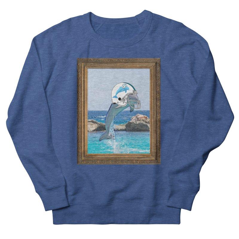 Dolphins Forever Men's Sweatshirt by infinityforever's Artist Shop