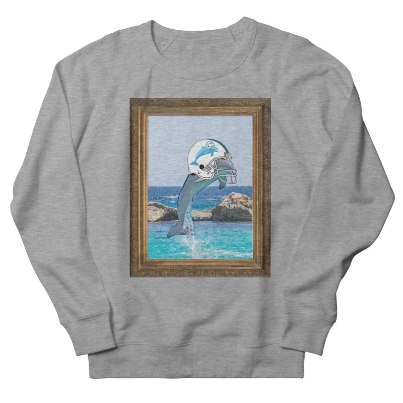 Dolphins Forever Men's Sweatshirt by infinityforever's Artist Shop
