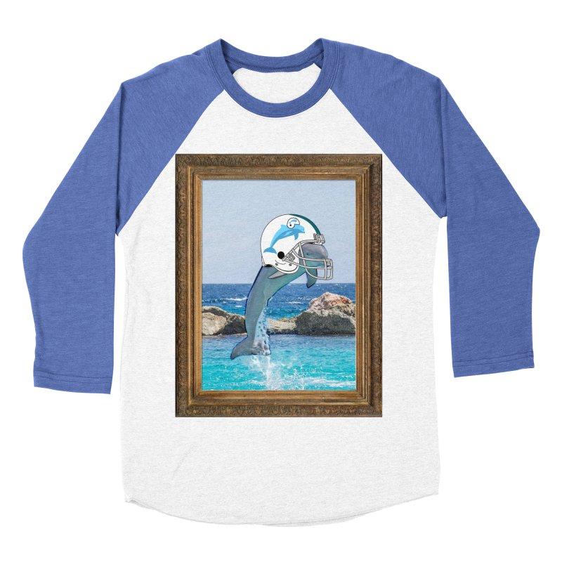 Dolphins Forever Women's Baseball Triblend T-Shirt by infinityforever's Artist Shop