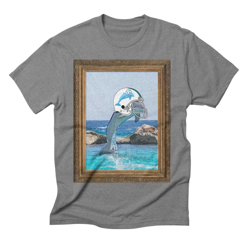 Dolphins Forever Men's Triblend T-shirt by infinityforever's Artist Shop