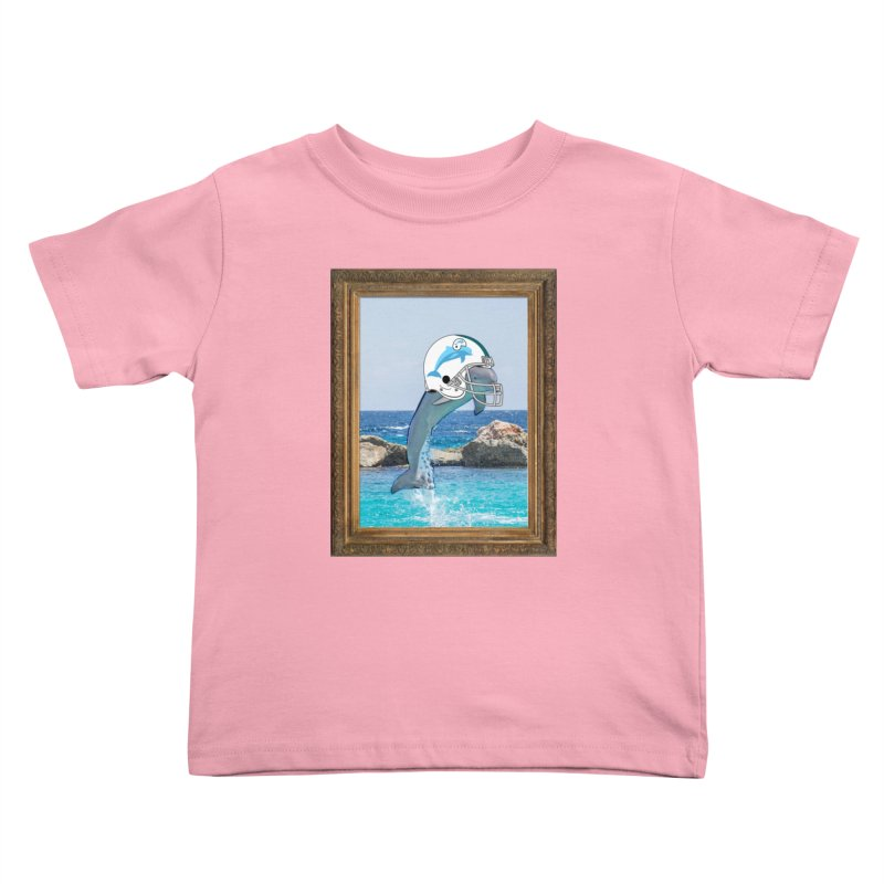 Dolphins Forever Kids Toddler T-Shirt by infinityforever's Artist Shop