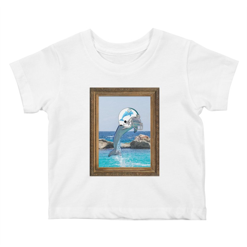 Dolphins Forever Kids Baby T-Shirt by infinityforever's Artist Shop