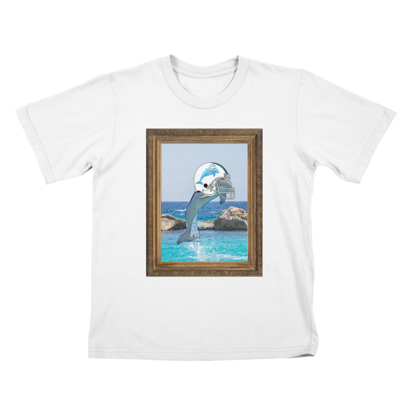 Dolphins Forever Kids T-Shirt by infinityforever's Artist Shop