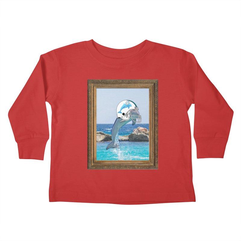 Dolphins Forever Kids Toddler Longsleeve T-Shirt by infinityforever's Artist Shop