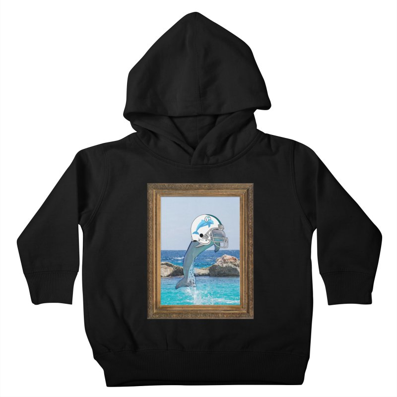 Dolphins Forever Kids Toddler Pullover Hoody by infinityforever's Artist Shop
