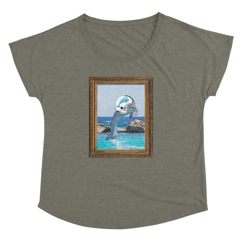 Dolphins Forever Women's Dolman by infinityforever's Artist Shop