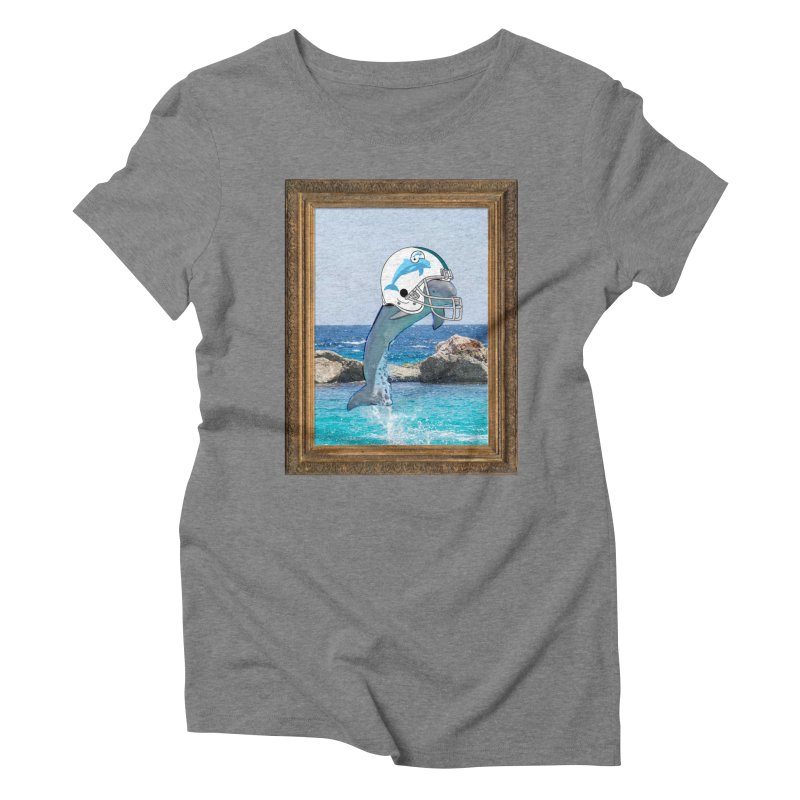 Dolphins Forever Women's Triblend T-shirt by infinityforever's Artist Shop