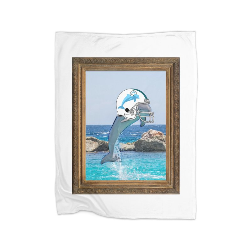Dolphins Forever Home Blanket by infinityforever's Artist Shop