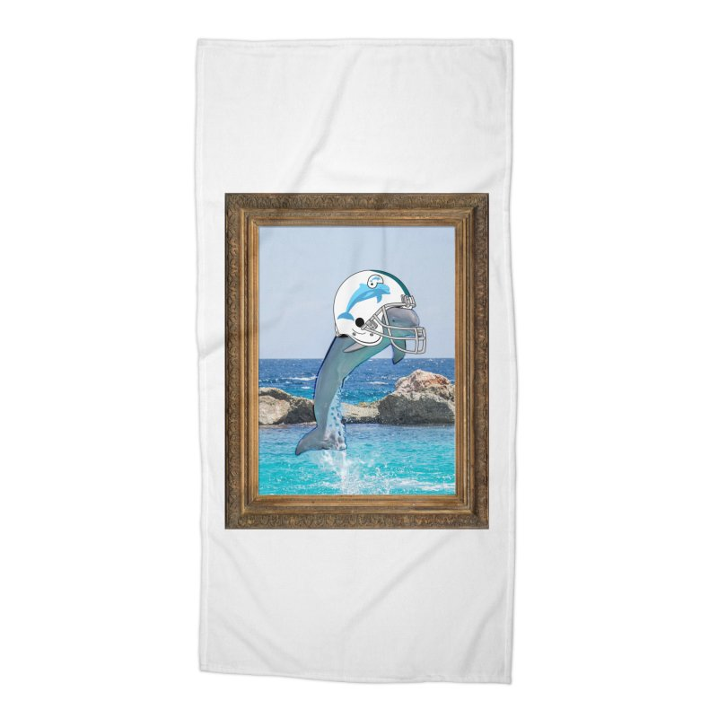 Dolphins Forever Accessories Beach Towel by infinityforever's Artist Shop
