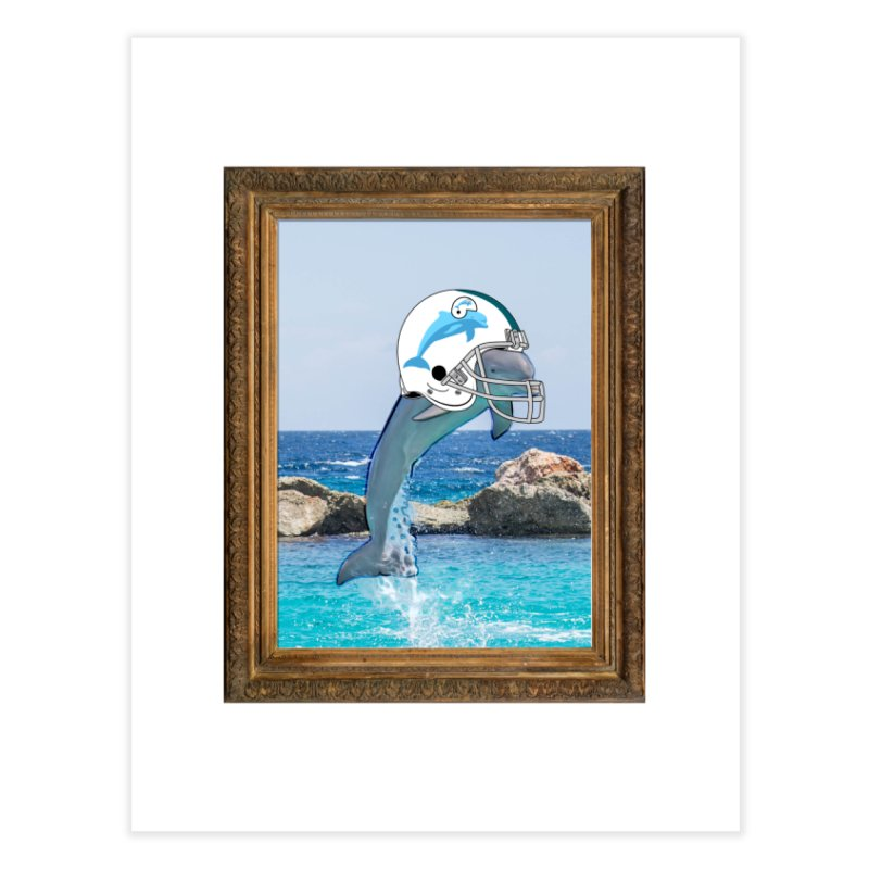 Dolphins Forever Home Fine Art Print by infinityforever's Artist Shop