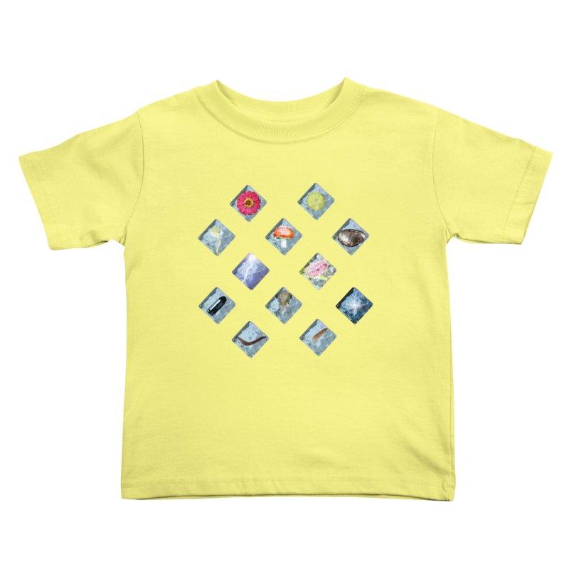 Itemization Kids Toddler T-Shirt by infinityforever's Artist Shop
