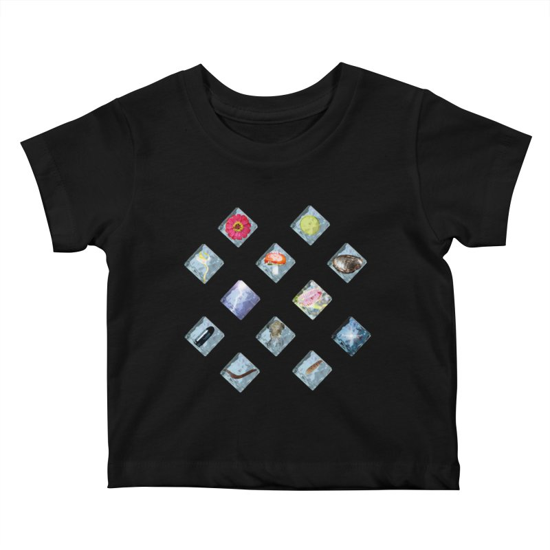 Itemization Kids Baby T-Shirt by infinityforever's Artist Shop