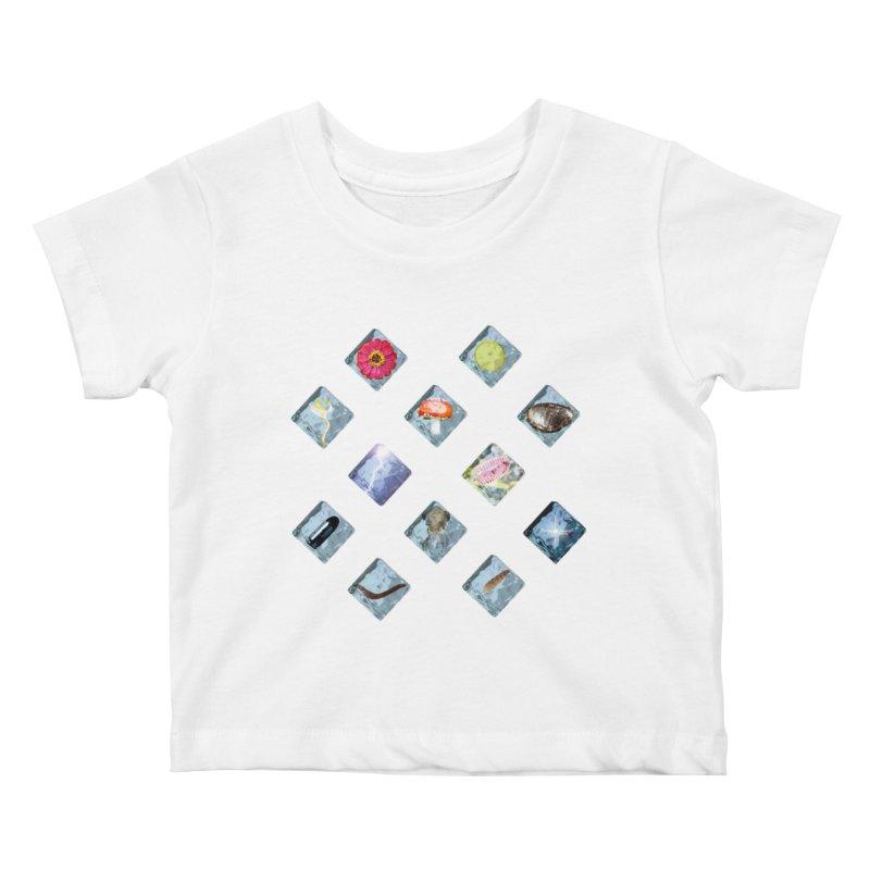 Itemization Kids Baby T-Shirt by infinityforever's Artist Shop