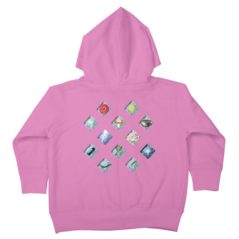 Itemization Kids Toddler Zip-Up Hoody by infinityforever's Artist Shop
