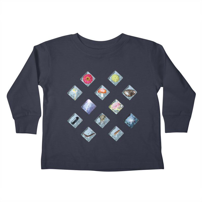 Itemization Kids Toddler Longsleeve T-Shirt by infinityforever's Artist Shop