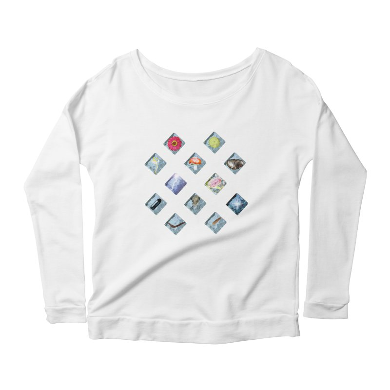 Itemization Women's Longsleeve Scoopneck  by infinityforever's Artist Shop