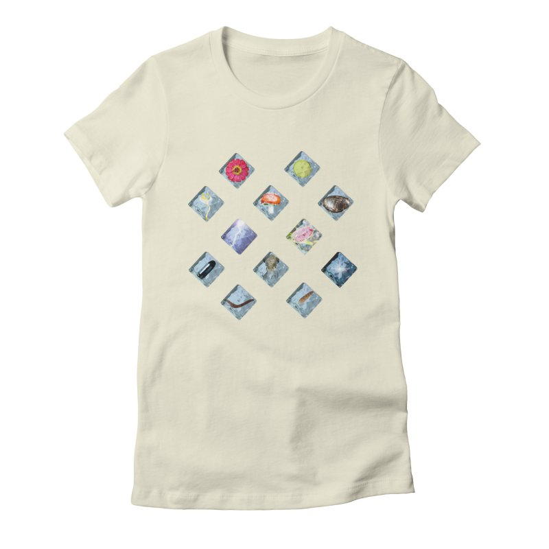 Itemization Women's Fitted T-Shirt by infinityforever's Artist Shop