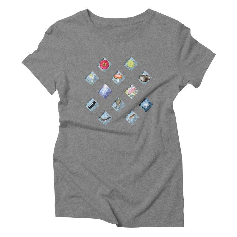 Itemization Women's Triblend T-Shirt by infinityforever's Artist Shop