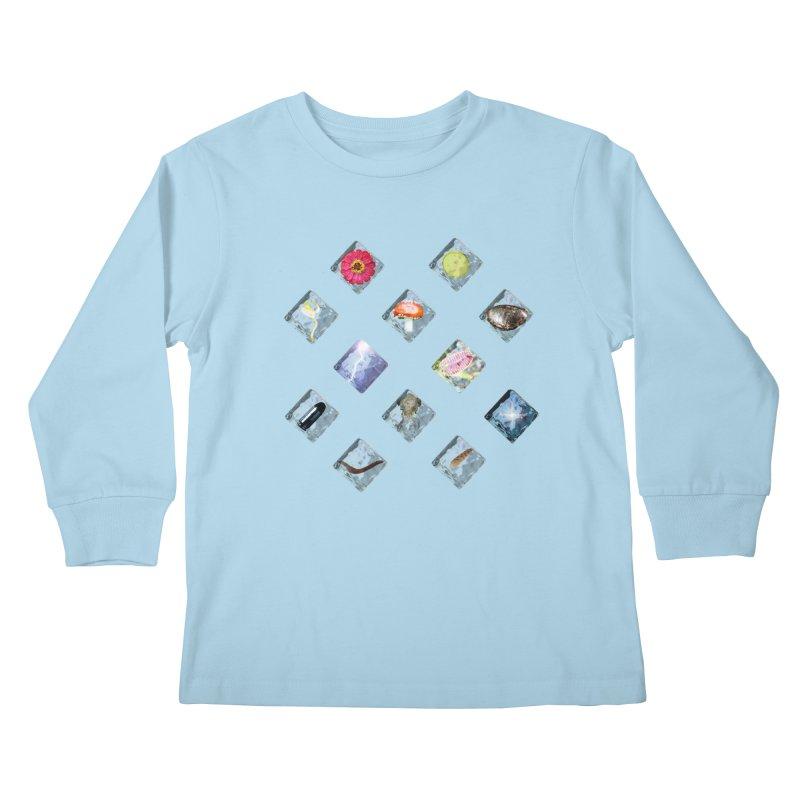 Itemization Kids Longsleeve T-Shirt by infinityforever's Artist Shop